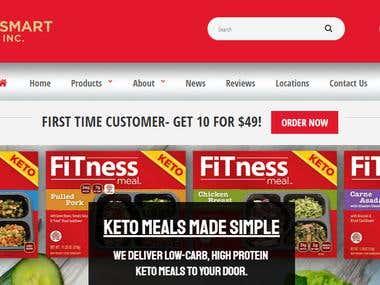 Proof Smart Food Website