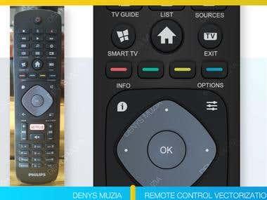 Remotes Control Vectorization