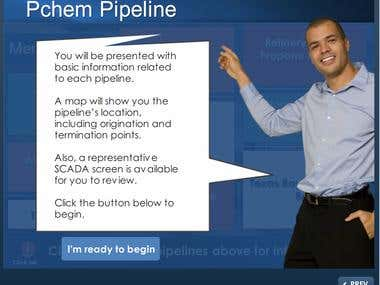 Pipeline Control Computer Based Training