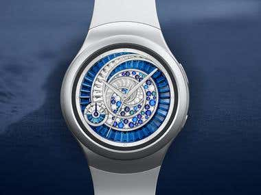 Seashell Watch Dial