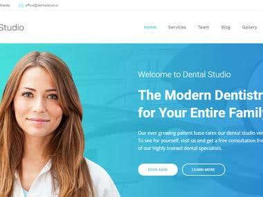 DENTAL HOSPITAL WEBSITE