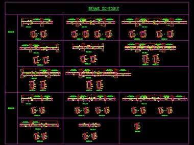 S-13 Beam Schedule