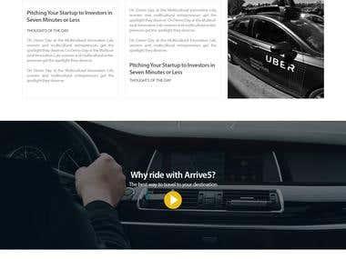 Arrive5 - Car Rent Portal