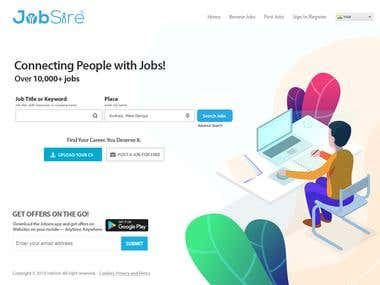 Jobsire Webste Development