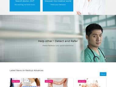 CORE PHP Website Development