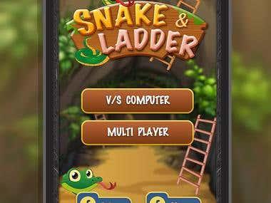 Snake Ladder 2D