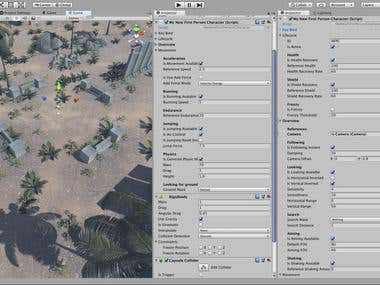 Unity3D Advanced First-Person Controller