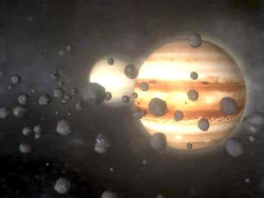 Solar System 3D Assets