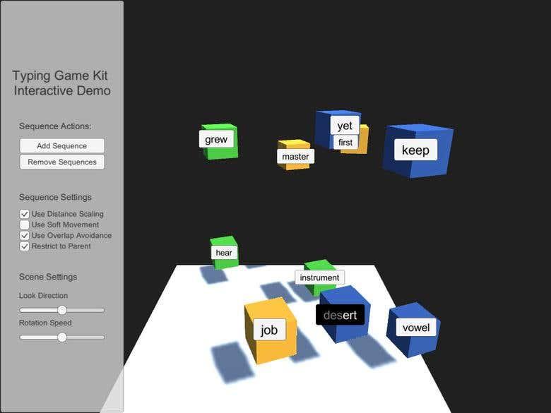 Typing Game Kit | Freelancer