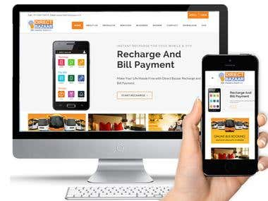 Mobile Recharge and Bill Payment Web site