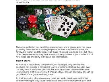 Gambling Addiction: The Self-Esteem Killer