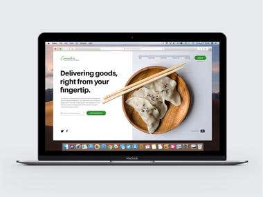 Food Delivery Web UI