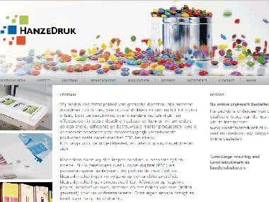 Automation Hanzedruk - Web mail client – (Dutch project)