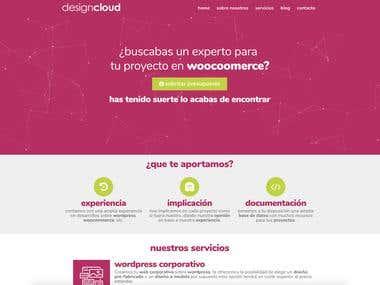 Diseño de nuestra web corporativa sobre wordpress