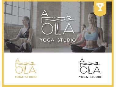 Winner logotype for Yoga Studio