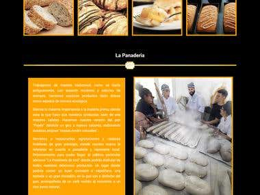 Web panaderia