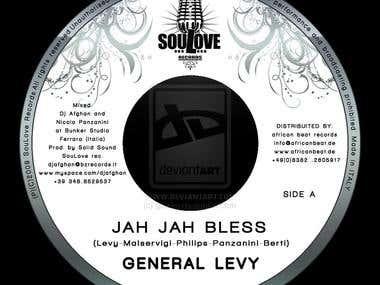 Vinyl 45 bpm lable