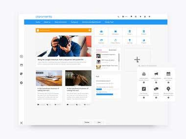 Pages Dashboard Builder