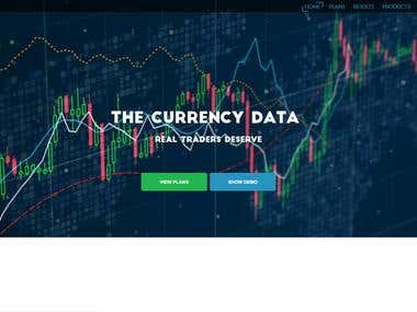 A crypto trading platform