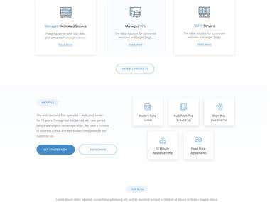 Hosting Webpage