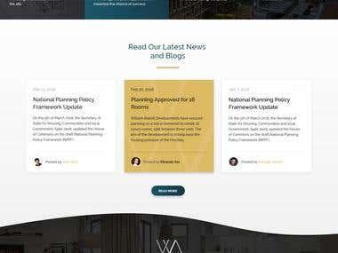 Construction Firm Website Template