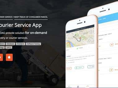 Courier Delivery App Development | Courier tracking app
