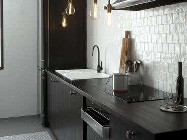 NYC Vintage kitchen