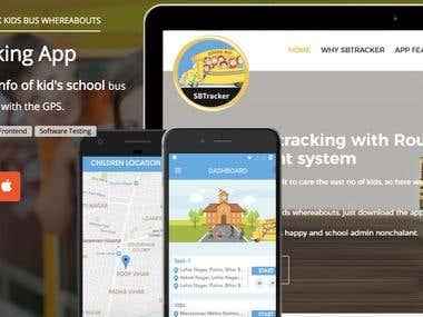 School bus tracking app development | school bus tracker