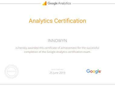 Google Certificate For Google adwords and Analytics