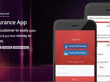 Insurance App Development