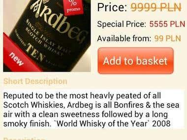 BarCode Whiskey Scanner
