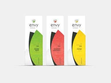 Product Packaging - ENVY Tinctures