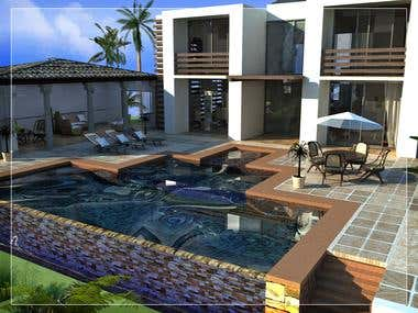 Beach House Rendering