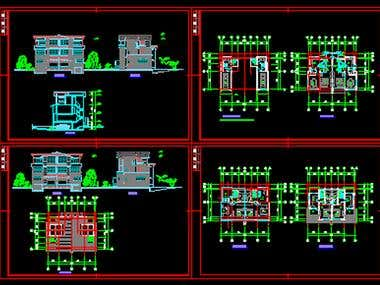 autocad home design