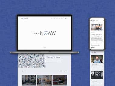 NOWW Architecture - Web Design and Development