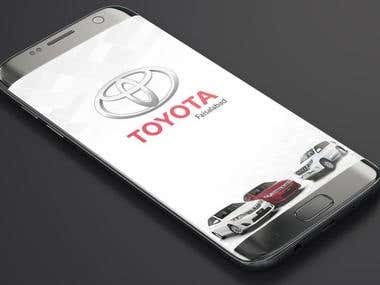 Toyota Faisalabad Motors (Business Application)