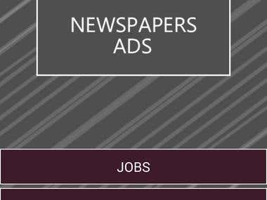 Daily Newspapers Ads