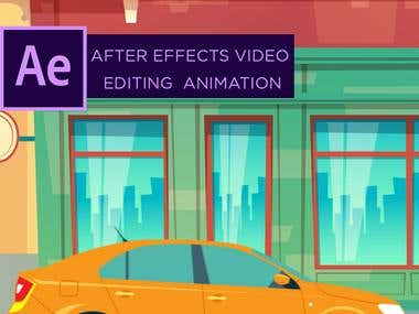 After Effects Video Animation, Illustrative Videos