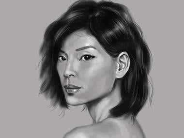 Portraits sketches