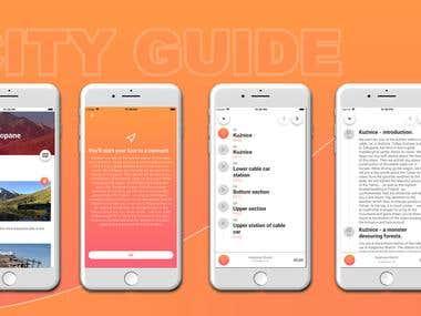 City Guide App (Hybrid)