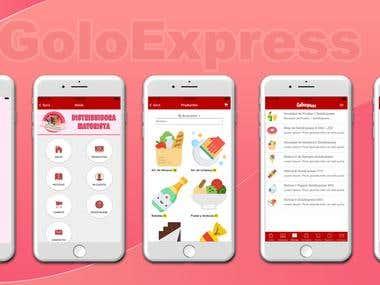 PhoneGap App(shopping)