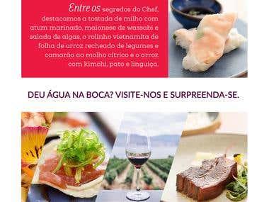 Restaurante Extásia - Mail Marketing
