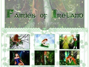 Calendar - Irish Fairies