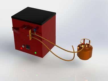3d design of furnace