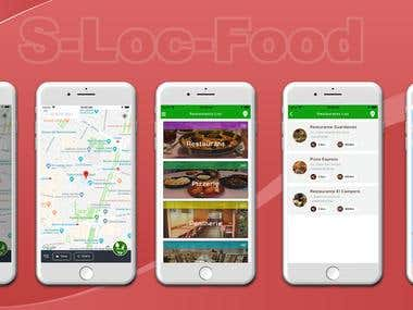 Hybrid Mobile App (S-Loc-Food)