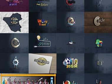 my work in logos