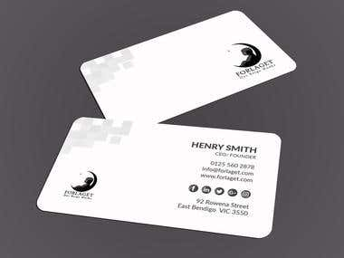 I can provide 3 awsome Business Card within 3 hours