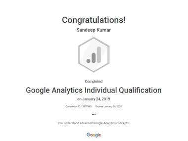 Google Analytic Certified