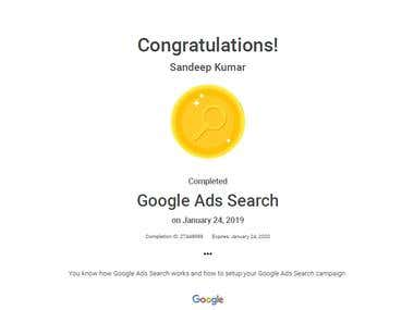 Google Adword Certified
