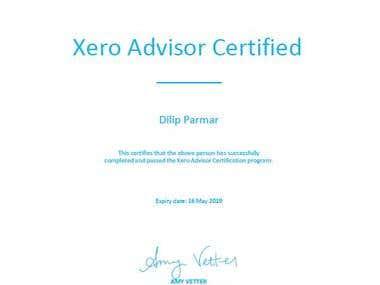 Xero Advisor Certification